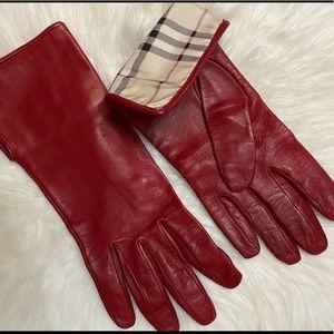 Burberry gloves rare vintage